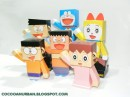 Papercraft personaggi doraemon